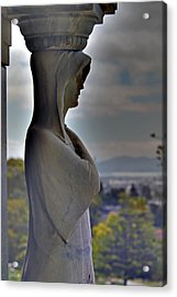 The Guardian -r- Acrylic Print by Phil Bongiorno