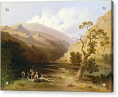 The Pioneers Acrylic Print by Joshua Shaw