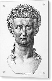 Tiberius (42 B.c.- 37 A.d.) Acrylic Print by Granger