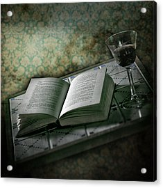 Time To Read Acrylic Print by Joana Kruse