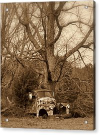 Times Past Acrylic Print by Marty Koch
