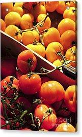 Tomatoes On The Market Acrylic Print by Elena Elisseeva
