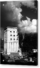 Tomb Of Eurysaces The Baker Acrylic Print by Fabrizio Troiani