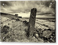 Top Withens Acrylic Print by Mark Haley