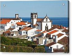 Town By The Sea Acrylic Print by Gaspar Avila