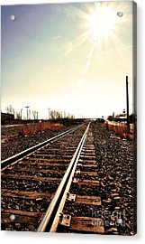 Acrylic Print featuring the photograph Tracks by Joel Witmeyer