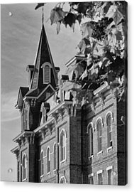 University Hall Acrylic Print by Coby Cooper