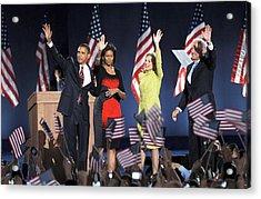 U.s. President Elect Senator Barack Acrylic Print by Everett