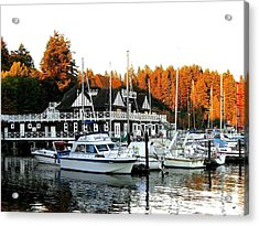 Vancouver Rowing Club Acrylic Print by Will Borden