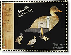Vintage Juvenile Licensing Art Acrylic Print by Anahi DeCanio