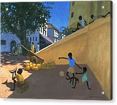 Water Melons Acrylic Print by Andrew Macara