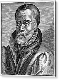 William Tyndale Acrylic Print by Granger