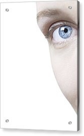 Woman's Eye Acrylic Print by