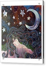 Wonder Of Night Acrylic Print by Monica Furlow