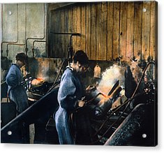 World War I: Women Workers Acrylic Print by Granger