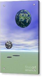 Planets Acrylic Print by Odon Czintos