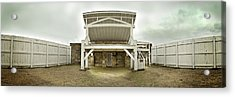 1002-0548 Judge Parker's Famous Gallows Acrylic Print by Randy Forrester
