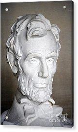 Abraham Lincoln (1809-1865) Acrylic Print by Granger