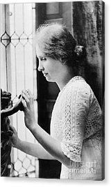 Helen Adams Keller Acrylic Print by Granger