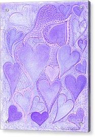 130 Acrylic Print by Patricia 'Amber' Sorenson