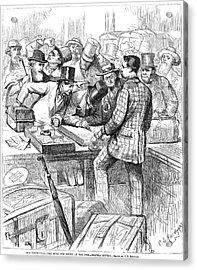 Centennial Fair, 1876 Acrylic Print by Granger