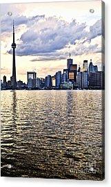 Toronto Skyline Acrylic Print by Elena Elisseeva