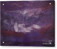 Seascape Sunset Acrylic Print by Lam Lam