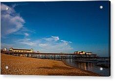 Hastings Pier Acrylic Print by Dawn OConnor
