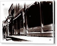 1900 Sidewalk  Acrylic Print by Marcin and Dawid Witukiewicz