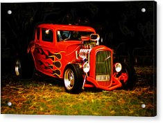 1932 Ford Coupe Hot Rod Acrylic Print by Phil 'motography' Clark