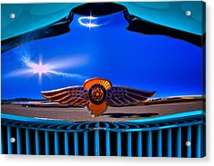 1933 Dodge Coupe Acrylic Print by David Patterson