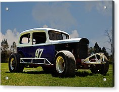 1934 Ford Stock Car Acrylic Print by Bill Cannon