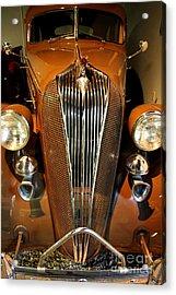 1936 Hudson 64 De Luxe 8 Sedan Acrylic Print by Wingsdomain Art and Photography