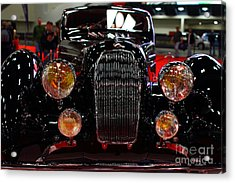 1938 Talbot Lago T150-c Speciale Teardrop Coupe . 7d9310 Acrylic Print by Wingsdomain Art and Photography