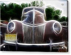 1939 Ford Deluxe Acrylic Print by Paul Ward