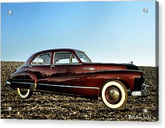 1948 Buick Eight Super Acrylic Print by Bill Cannon