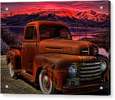 1948 Ford Pickup Truck Acrylic Print by Tim McCullough