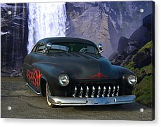1949 Mercury Low Rider Acrylic Print by Tim McCullough