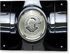1950 Pontiac Grille Emblem 2 Acrylic Print by Jill Reger