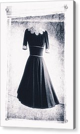 1950s Dress Acrylic Print by David Ridley