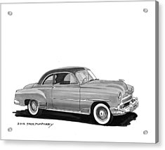 1951 Chevrolet Coupe Acrylic Print by Jack Pumphrey