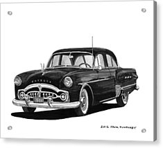 1951 Packard Patrician 400 Acrylic Print by Jack Pumphrey