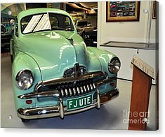 1953 Fj Holden Ute Acrylic Print by Kaye Menner
