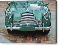 1955 Aston Martin Acrylic Print by Jill Reger