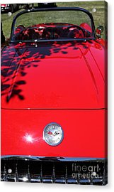 1956 Chevrolet Corvette . 5d16292 Acrylic Print by Wingsdomain Art and Photography