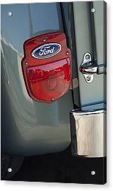 1956 Ford F-100 Truck Taillight Acrylic Print by Jill Reger