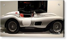 1957 Ferrari Testa Rossa- 7d17217 Acrylic Print by Wingsdomain Art and Photography