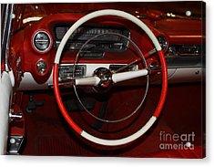 1959 Cadillac Convertible - 7d17387 Acrylic Print by Wingsdomain Art and Photography