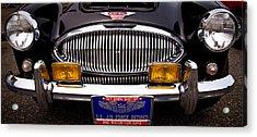 1962 Austin Healey 3000 Mkii Acrylic Print by David Patterson
