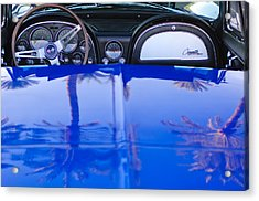 1965 Chevrolet Corvette Sting Ray Acrylic Print by Jill Reger
